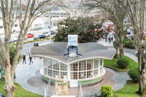 El kiosko de la Plaza de Ourense se convertirá en cafetería