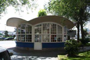 Una visión histórica del quiosco de la Plaza de Ourense