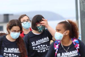La andaina solidaria de Congalsa acumula ya 2.261 kilómetros, que se transformarán en euros